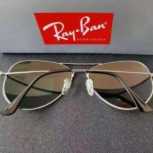 Ray-Ban Orange Sunglasses 3026 62mm